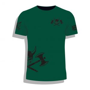 Barbarian Legion Airsoft BattleSim Team T Shirt Front